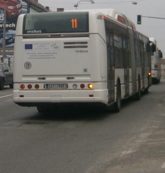95 U autobusového nádraží (29.3.2012)