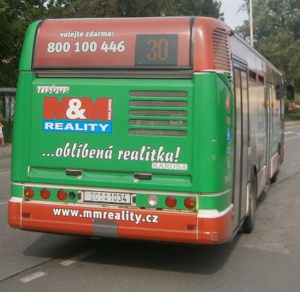 MM Reality(2C1 1034) zastávka Měšice náměstí (24.6.2012)