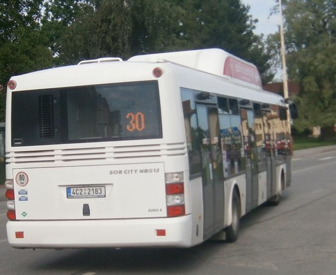 ODS(4C2 2183) Měšice náměstí (15.6.2012)