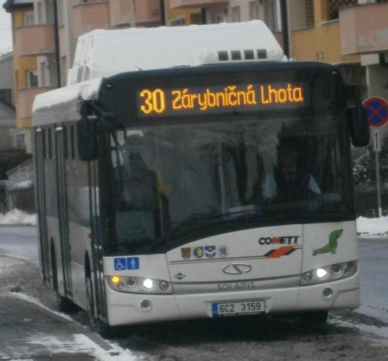 59(6C2 3159) Měšice náměstí (7.12.2013)