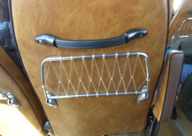 Karosa ŠD 11 - detail sedadla